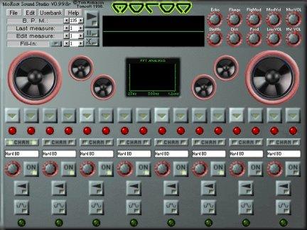Hammerhead drum machine